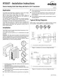 ouellet rt850 user manual 2 pages