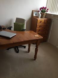 desk and chair pine corner desk and adjustable chair in