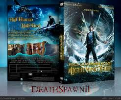 the lighting thief movie percy jackson the olympians the lightning thief movies box art