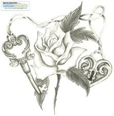 stars n heart tattoo sketch real photo pictures images and