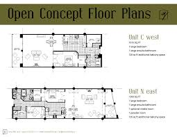 open one story floor plans crtable