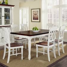 kitchen table round white with bench granite storage 6 seats