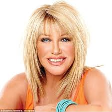 how to cut your own hair like suzanne somers suzanne somers 67 talks life after breast cancer and reveals how
