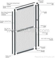 Patio Door Insect Screen Sliding U0026 Hinged Insect Screen Doors G217 Ssobt China