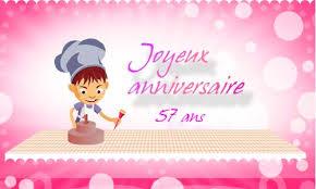 57 ans de mariage carte anniversaire mariage 57 ans maries deux