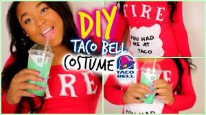 Bell Halloween Costume Diy Halloween Taco Bell Costume Easy Sew