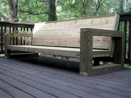 Wooden Deck Bench Plans Free by Best 25 Outdoor Wood Bench Ideas On Pinterest Diy Wood Bench