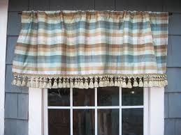 valance ready to ship plaid faux silk gathered rod pocket
