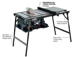 diy table saw stand 4100 and rousseau table saw stand or diy stand or pro