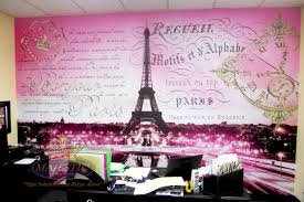 decoration theme paris gallery window and wall graphics paris theme wall mural jpg 1 200