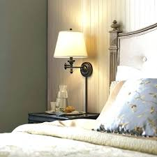 plug in wall lights for bedroom bedside wall ls plug in sdautomuseum info