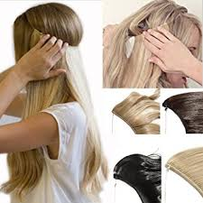 invisible hair 2 5 days delivery best synthetic hair extensions 20