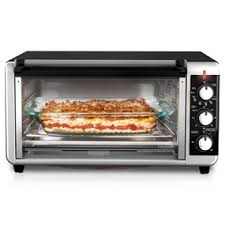 Large Toaster Oven Reviews Black Decker Extra Wide 8 Slice Toaster Oven To3250xsb Black