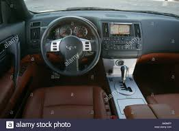car nissan infiniti fx45 study model year 2003 stock photo