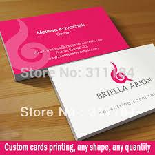 aliexpress buy custom paper matt lamination visit card name