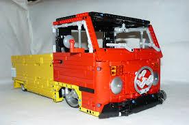 volkswagen lego technic vw transporter type 2 lowrider by dokludi lego technic