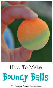 how to make bouncy balls for that really bounce