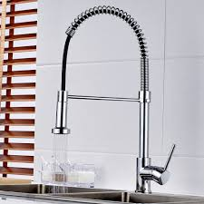 j25 kitchen series single hole kitchen faucet with pull out spray