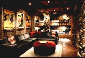 log cabin living room decor rustic modern living room decor and