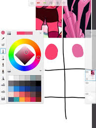 Pink Color Wheel by Navy Ruby Is Pink Diamond U2022 Steven Universe Amino