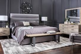 Hudson Bedroom Furniture by Hudson California King Upholstered Platform Bed Living Spaces