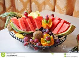 arrangement fruit carved fruits arrangement fresh various fruits assortment of