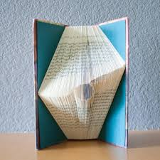 Unique Gifts Home Decor Snitch Harry Potter Folded Book Art Book Lover Home