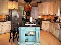 french country kitchen decorating with painted island rustic french country kitchen decor style home image of themed