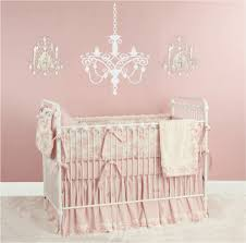 girls shabby chic bedding chandelier vinyl wall decal baby nursery wall decal for shabby