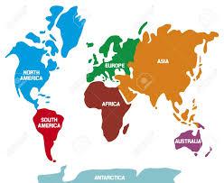 world map with continents world map with continents world map