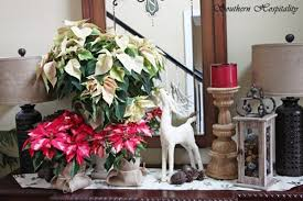 decorating entryway table for christmas home decor 2017