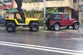 jeep lowered never thought i u0027d buy a mahindra thar my jeep story edit now