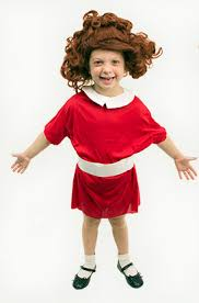 Scary Halloween Costumes Girls Homemade Orphan Annie Costume Costumes