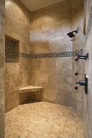 bathroom and shower designs bathroom flooring modern master bathroom with mosaic tile shower