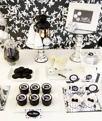 black tie party favors black and white party decorations party favors ideas