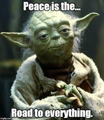 Peace Memes - star wars yoda meme imgflip