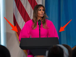 pink dress melania pink dress reveals difference between and
