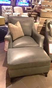 Simon Li Leather Sofa Simon Li Silver Lake Wing Style Chair And Ottoman Top Grain