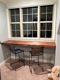 acacia bar desk the hall way