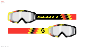 scott motocross goggles scott mx u2014 graphics on behance