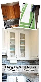 Installing Glass In Kitchen Cabinet Doors Marvelous Installing Glass In Kitchen Cabinet Doors R79 In