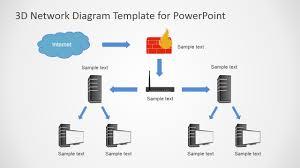 Fishbone Diagram Template Download by Tree Topology Powerpoint Network Diagram Slidemodel