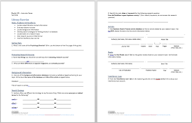 worksheet for engl 101 pollak library elearning