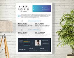 Free Resume Cover Letter Templates 10 Fresh Free Resume Design Templates 2017 Available On Dropbox