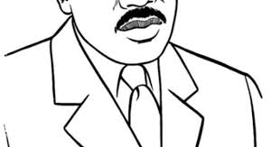 Luther King Coloring Pages Preschool Dr Martin Luther King Jr Coloring Pages