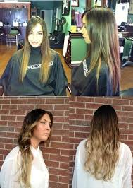 black hair stylists in st pete fl ombre hair color before after at h2o salon ta clearwater
