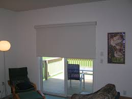 Roller Shades For Sliding Patio Doors Big Roller Shade A Sliding Patio Door Roller Shades