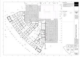 Health Center Floor Plan by Ithaca Builds Gannett Health Center