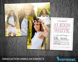senior graduation announcement templates graduation invitation photos graphics fonts themes templates