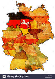 German States Map by Lower Saxony On Old Administration Map Of German Provinces States